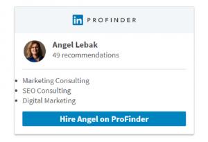 LinkedIn Profinder Professional