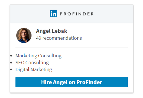 LinkedIn ProFinder Professional SEO & Marketing