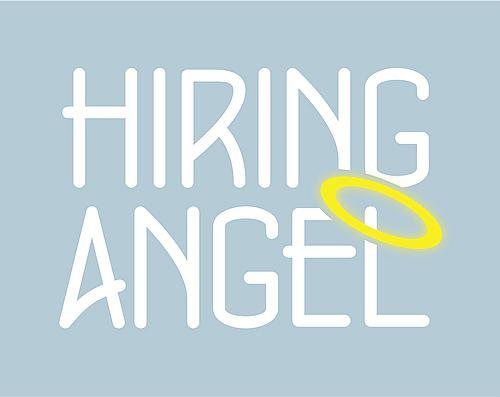 Hiring Angel office admin recruiter logo